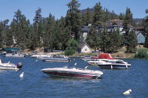 Big Bear Lakeboating