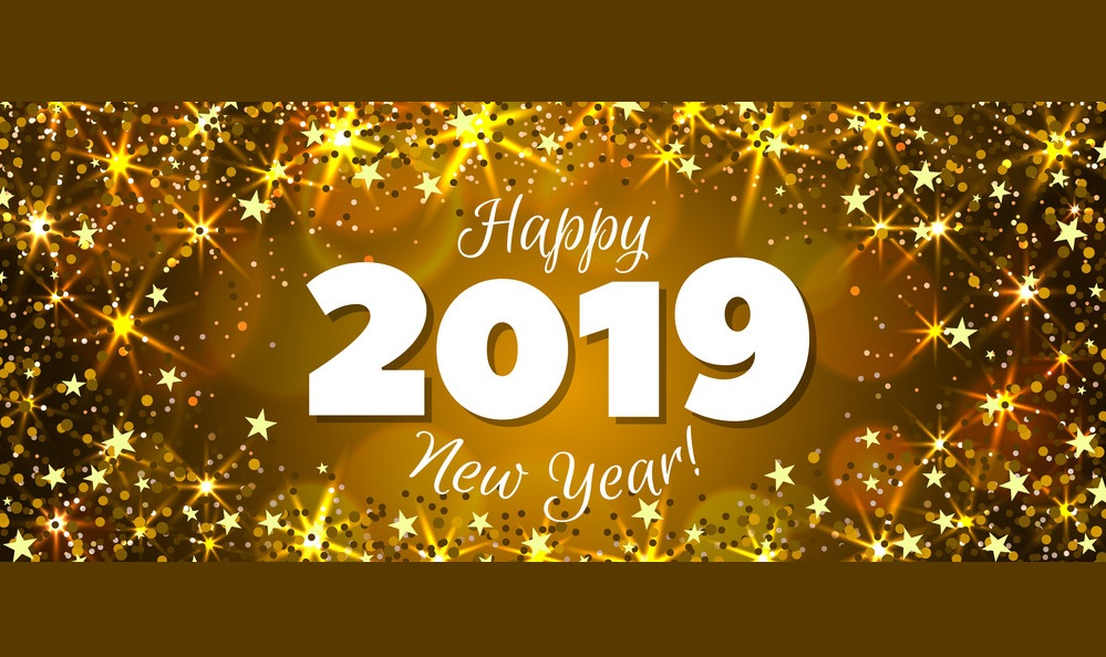 Happy 2019 >> Happy New Year 2019 Banner Vector 21227385 Big Bear Escapes