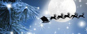 winter navidad feliz moon sleigh firefox stars snow beam persona tree christmas santa sky clause santas reindeer night flight xmas full hd 1